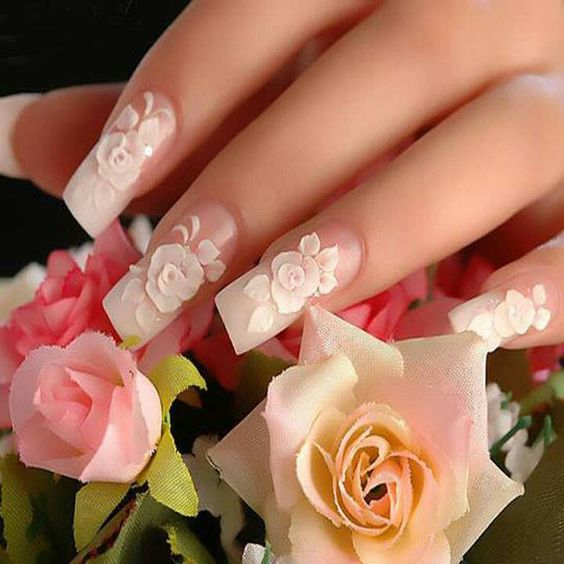 Bridal Nail Art Ideas